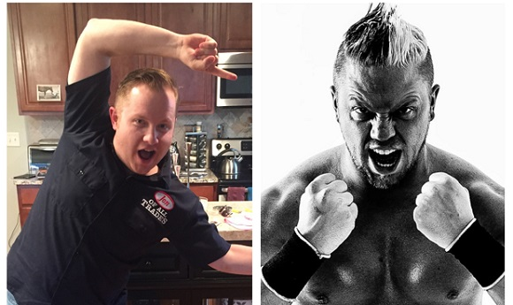 Rob Ryzin is the guest on Ep. 59 of the Jon of All Trades Podcast, debuting May 27, 2015 and talks about his career as a professional wrestler.