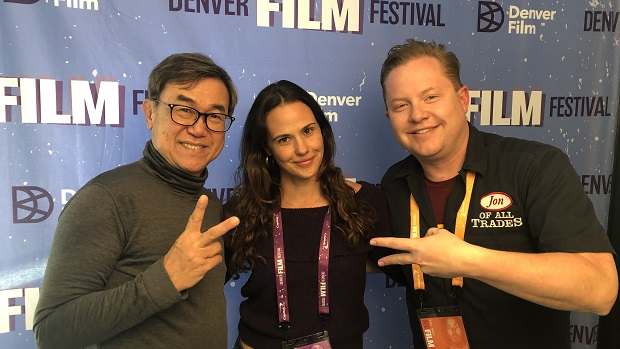 """Jack Sim and Lily Zepeda are the subject and director of """"Mr. Toilet: The World's Number Two Man"""" and they're the guests on Ep. 231 of the Jon of All Trades Podcast debuting November 6, 2019 from Denver Film Festival 42."""
