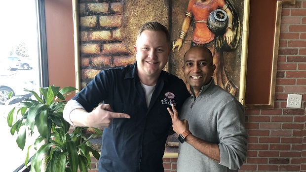 Ramesh Madakasira is the creator of Urban Village Eat & Sip in Lone Tree, CO. And he's the guest on Ep. 238 of the Jon of All Trades Podcast debuting January 15, 2020.